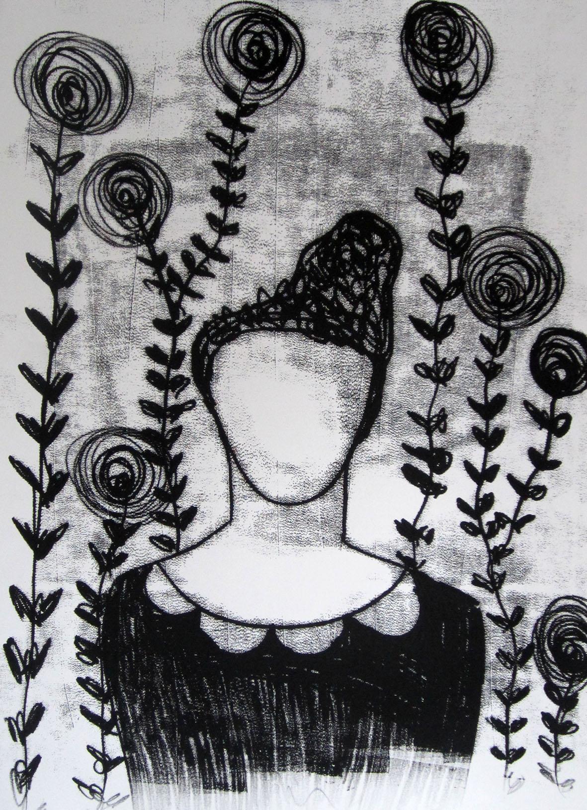 Bloemen kunnen zien #6  - Lotte Marijt